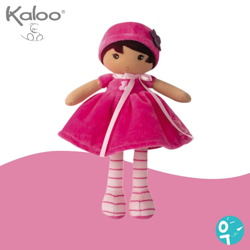 Petite poupée chiffon rose