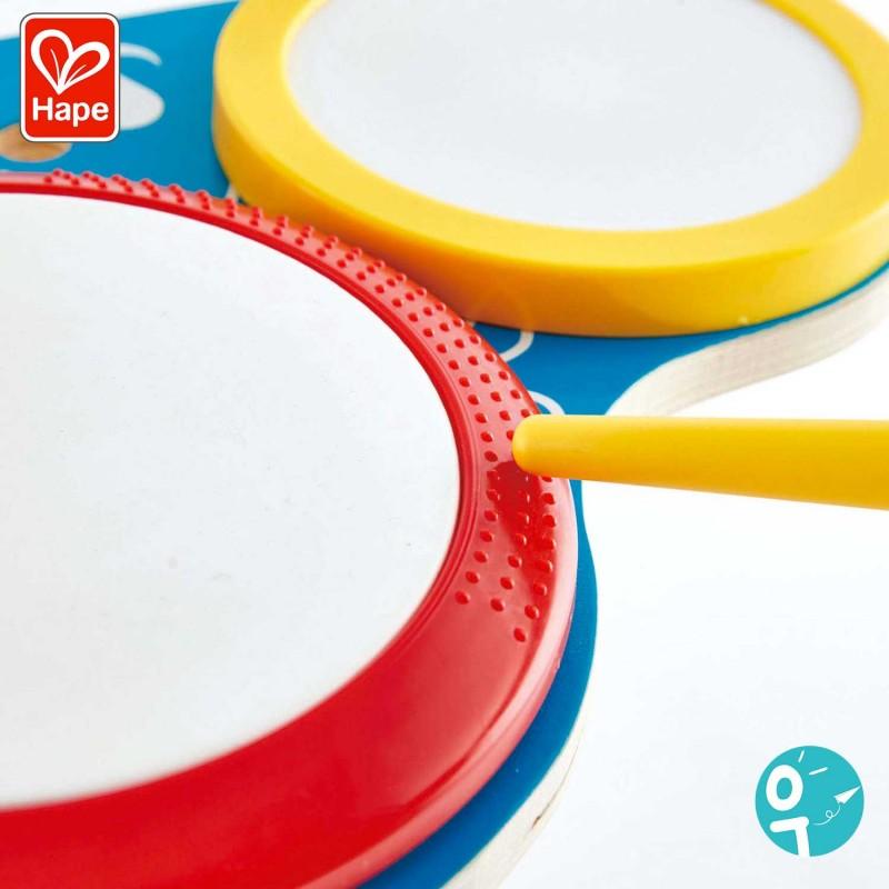 Détails des tambours