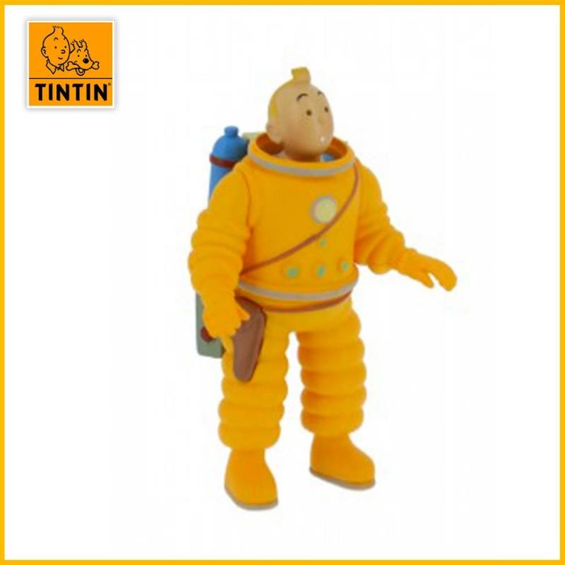 Figurine Tintin Scaphandre Lunaire - Figurine PVC (grand modèle) 42505