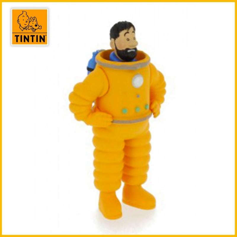 Figurine Haddock Scaphandre Lunaire - Figurine Tintin PVC (grand modèle) 42507