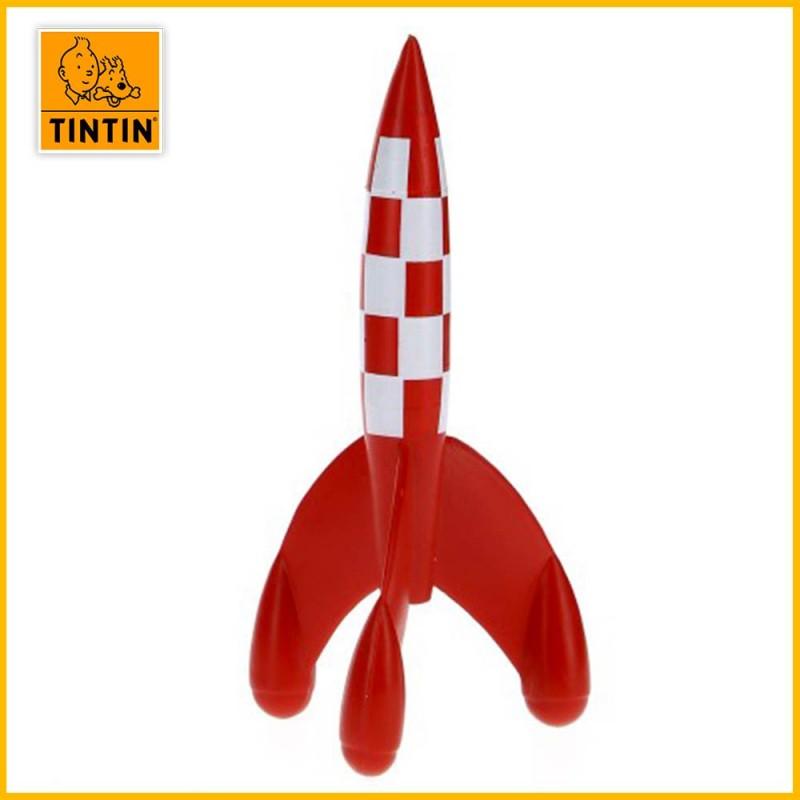 Figurine fusée Tintin - Figurine PVC (grand modèle : 8.5 cm) 42439