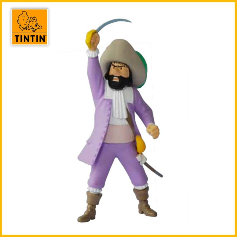 Figurine Le chevalier de Hadoque - Figurine Tintin PVC (petit modèle) 42485