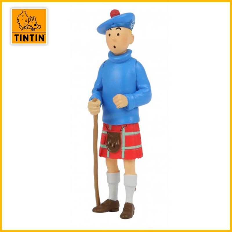 Figurine Tintin Kilt - Figurine PVC (grand modèle) 42509