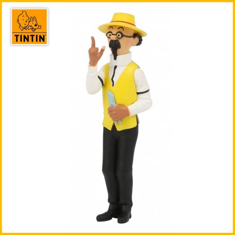 Figurine Tournesol jardinier - Figurine Tintin PVC 42516