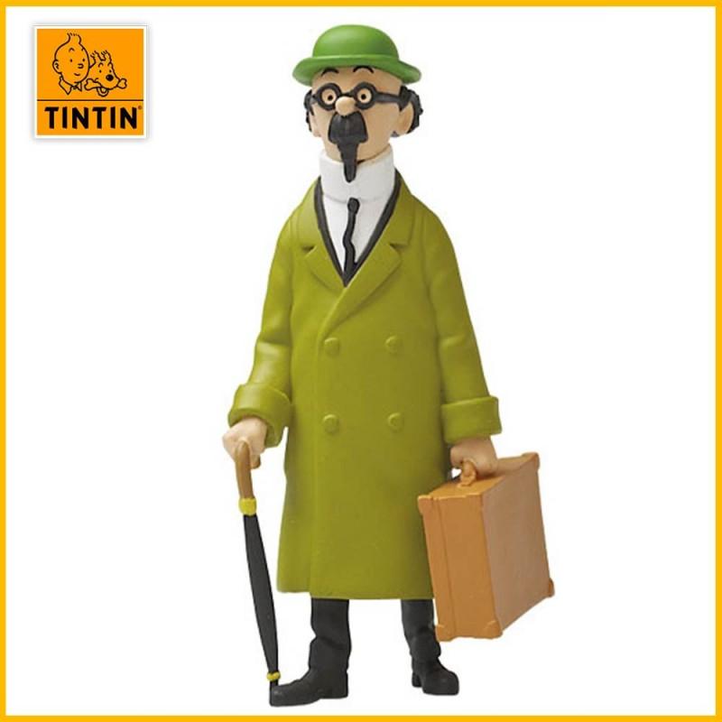 "Figurine Tournesol ""valise"" - Figurine Tintin PVC (grand modèle) 42446"