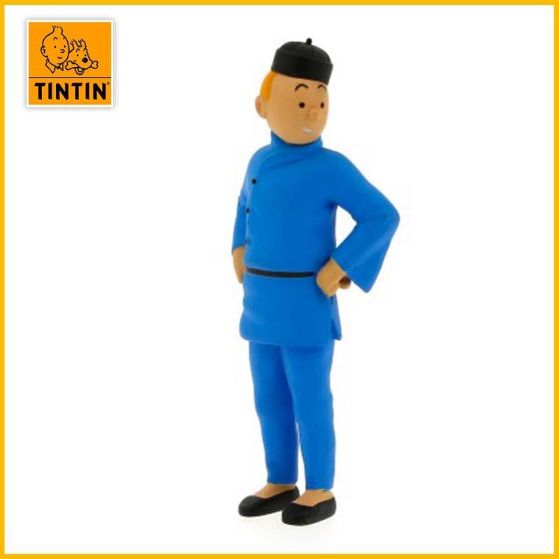 Figurine Tintin lotus en Chine - Figurine PVC (grand modèle) 42453