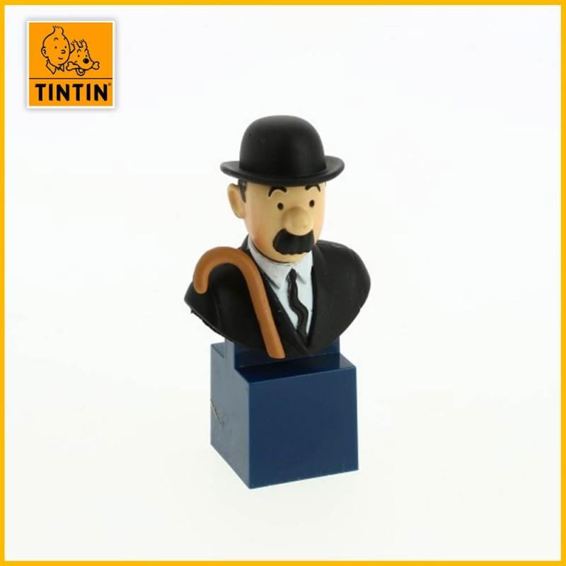 Figurine petit buste Dupont Tintin 42493
