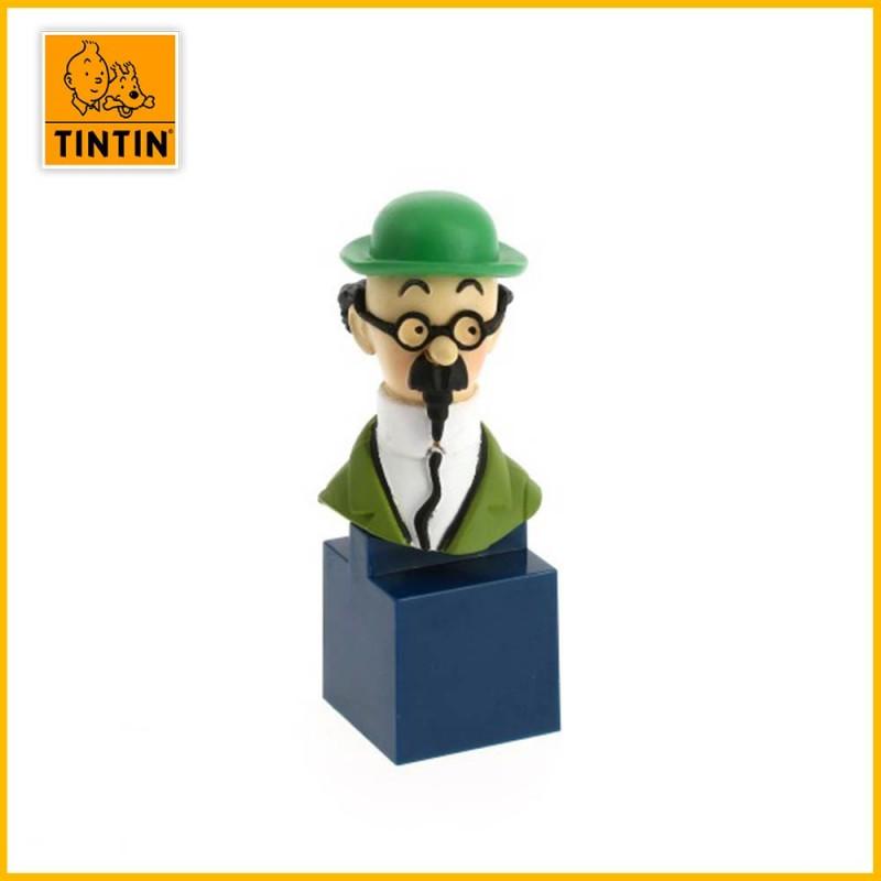 Figurine petit buste Tournesol Tintin 42495