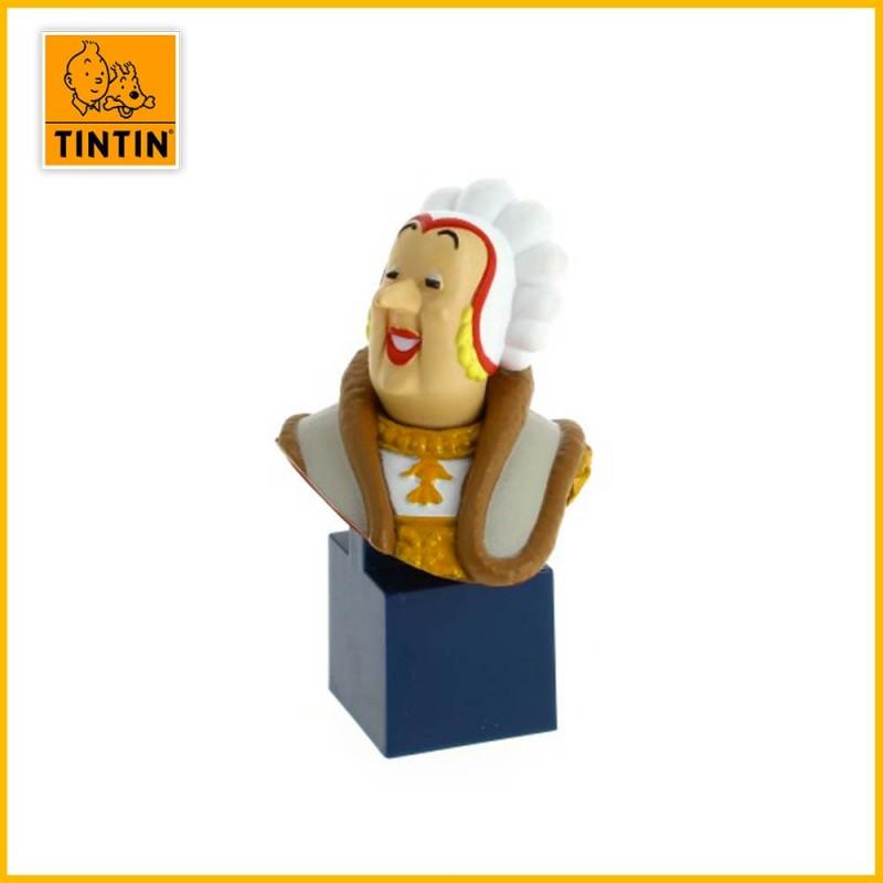Figurine petit buste Castaphiore Tintin 42494