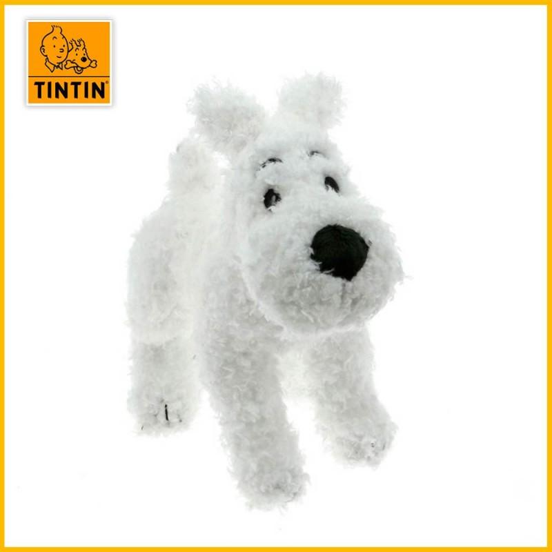 Peluche chien Milou 20cm - Tintin Moulinsart 35130