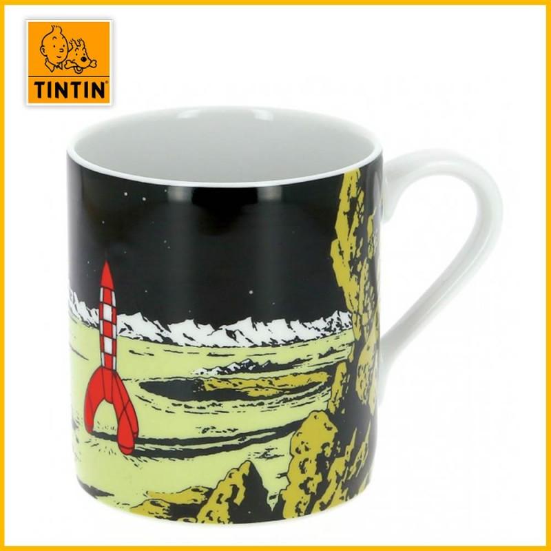Mug fusée lune - Tasse porcelaine Tintin 47987