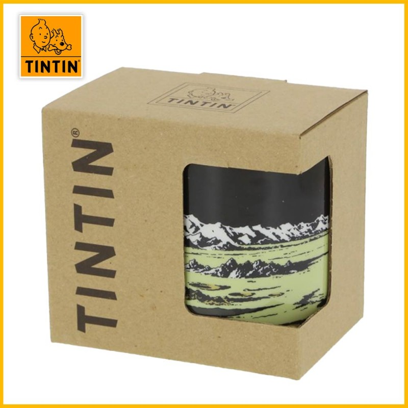 Emballage recyclé tasse Tintin