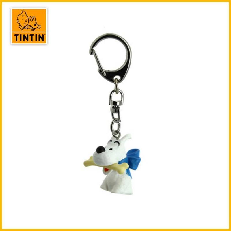 Porte-clés Tintin - Buste Milou Moulinsart 42316
