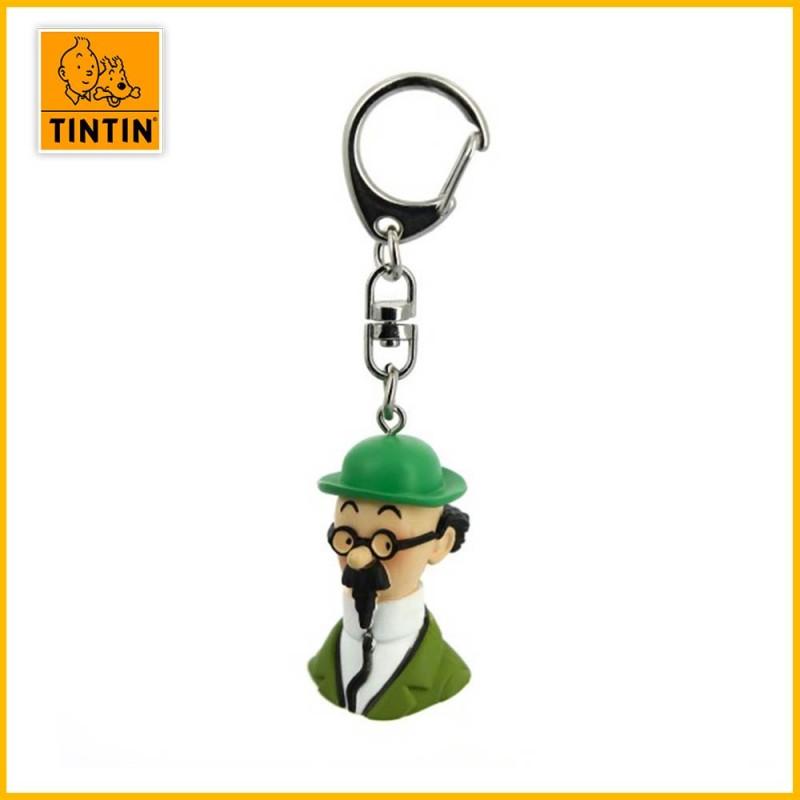 Porte-clés Tintin - Buste Tournesol Moulinsart 42320