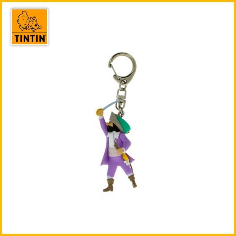 Porte-clés Chevalier de Hadoque - Figurine Tintin (petit modèle) 42481