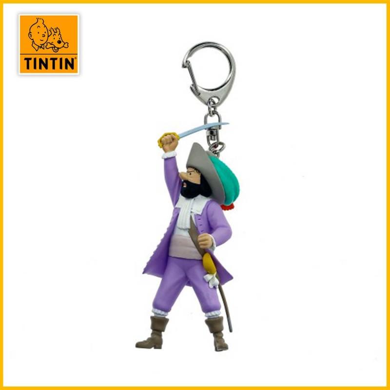 Porte-clés Chevalier de Hadoque - Figurine Tintin (grand modèle) 42471