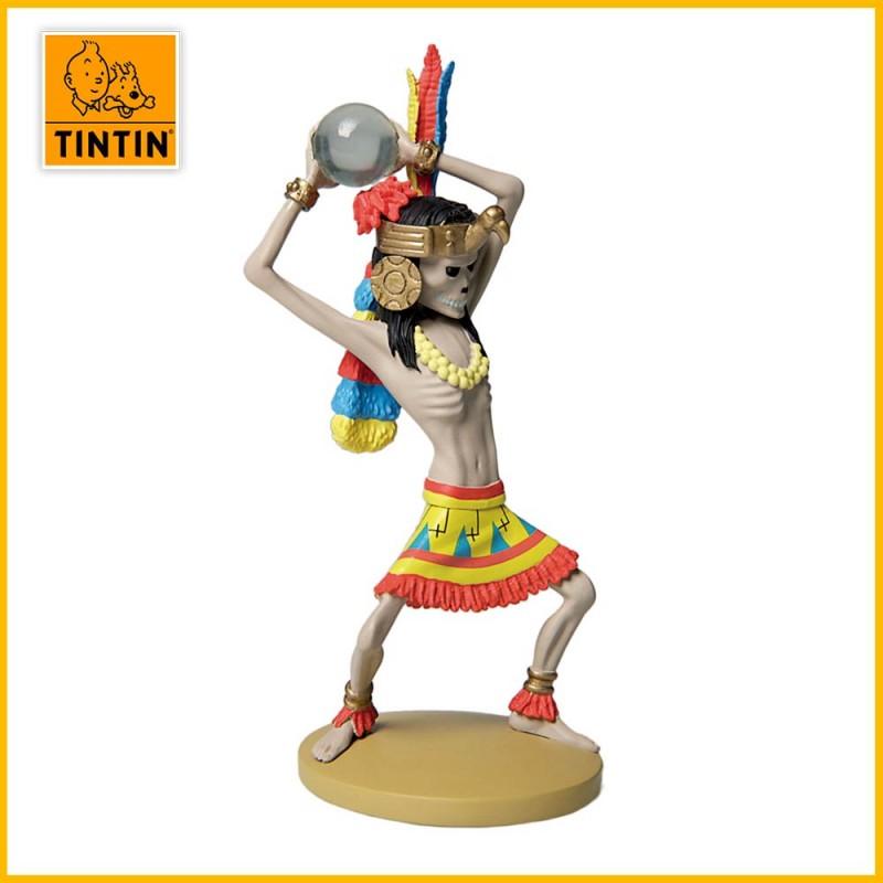 Statuette Rascar Capac - Figurine Résine Tintin Moulinsart 42213