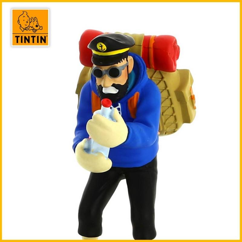 Statuette Haddock bouteille vide - Figurine Résine Tintin 42195