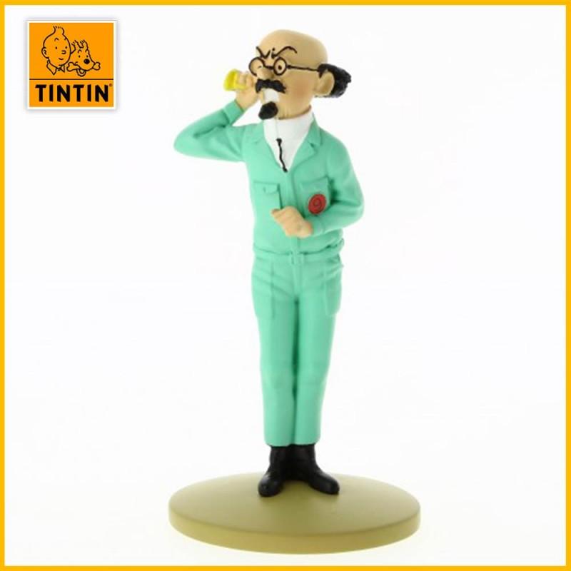 Statuette Tournesol Lune au Cornet - Figurine Résine Tintin Moulinsart 42216