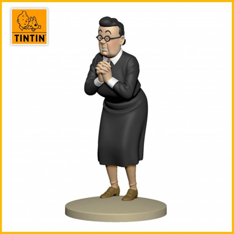 Statuette Madame Irma - Figurine Résine Tintin Moulinsart 42223