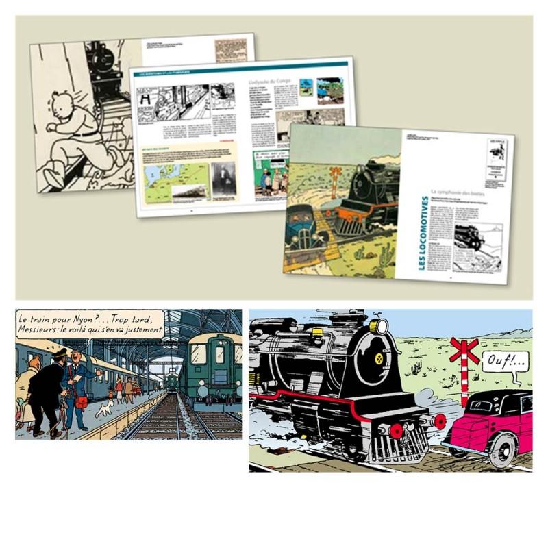 Hergé, Tintin et les trains - Moulinsart et Casterman
