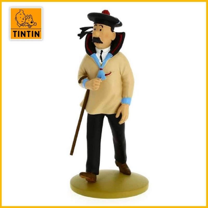 Statuette Dupont matelot - Figurine Résine Tintin Moulinsart 42201