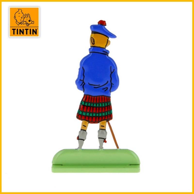 Figurine relief dos Tintin en Kilt