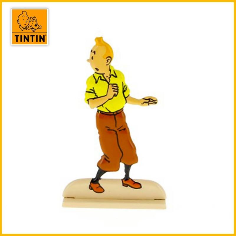 Tintin vient d'être prisonnier dans l'album du Secret de La Licorne