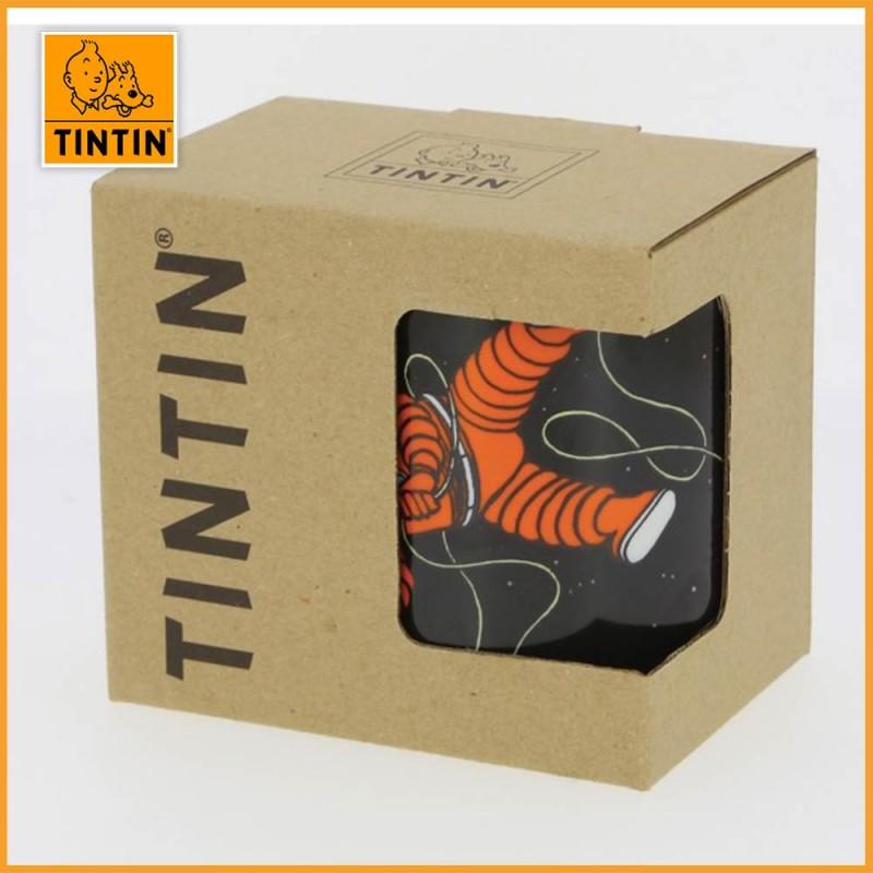 Mug Tintin & Haddock Lune - Tasse Tintin Lune -  packaging