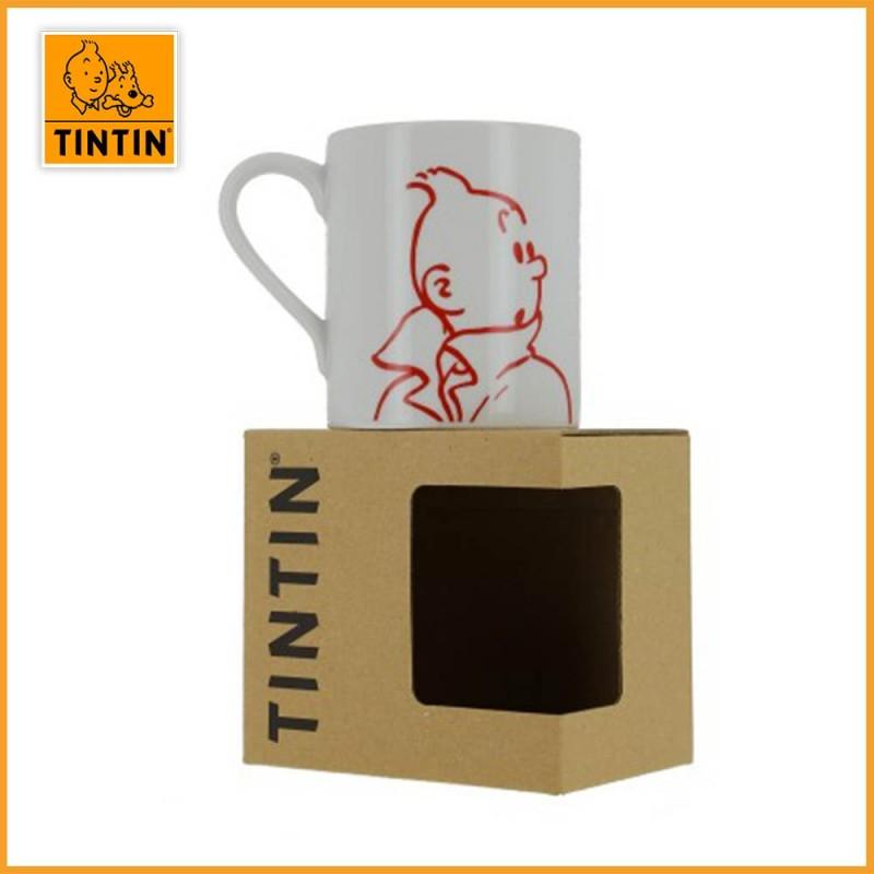 Mug Tintin - Tasse personnage Tintin