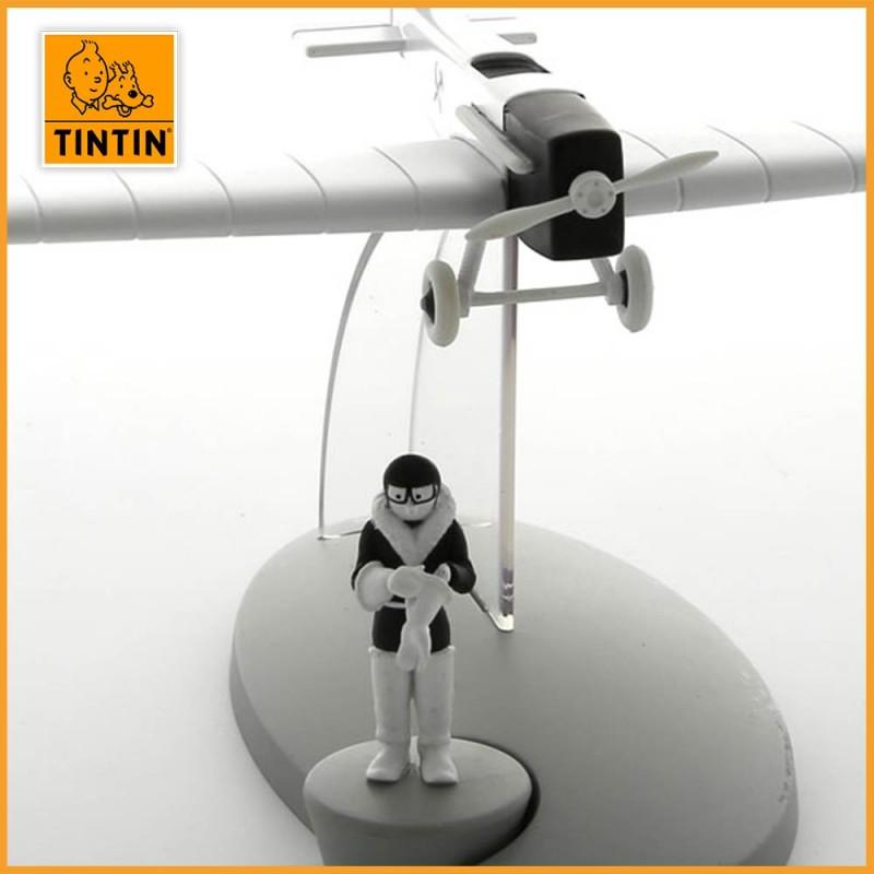 L'avion de chasse - Tintin au pays des soviets - Figurine avion Tintin - zoom