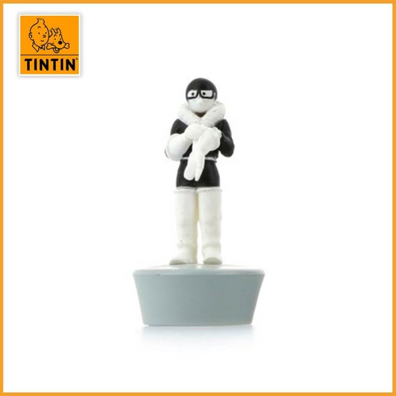L'avion de chasse - Tintin au pays des soviets - Figurine avion Tintin - Figurine seulement.