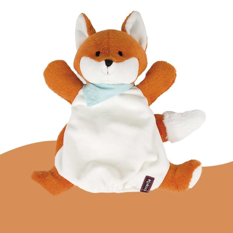 Doudou marionnette Paprika le renard Les Amis Kaloo K963496
