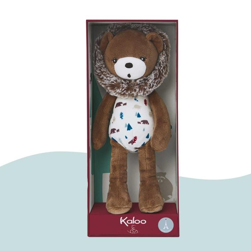 Ourson dans sa jolie boite coffret cadeau de Kaloo