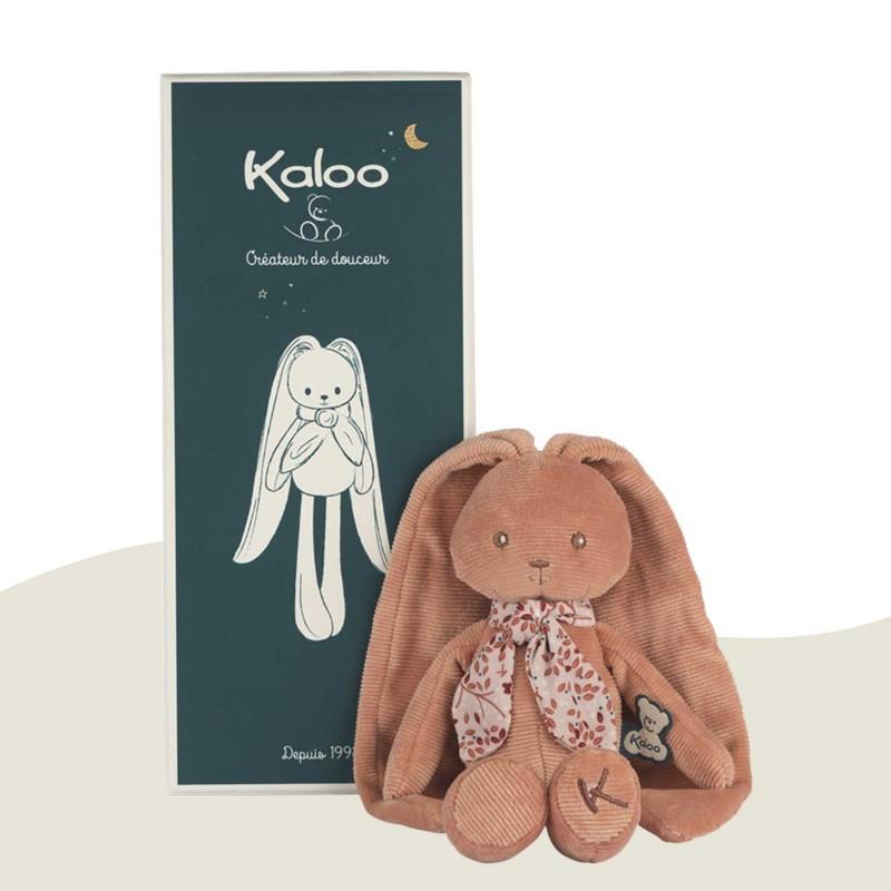 Peluche pantin lapin terracotta Lapinoo Kaloo