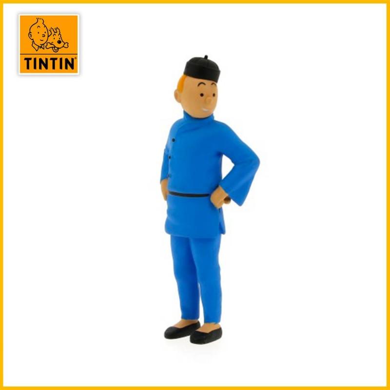 Figurine Tintin en Chine (Lotus Bleu) 6cm 42461