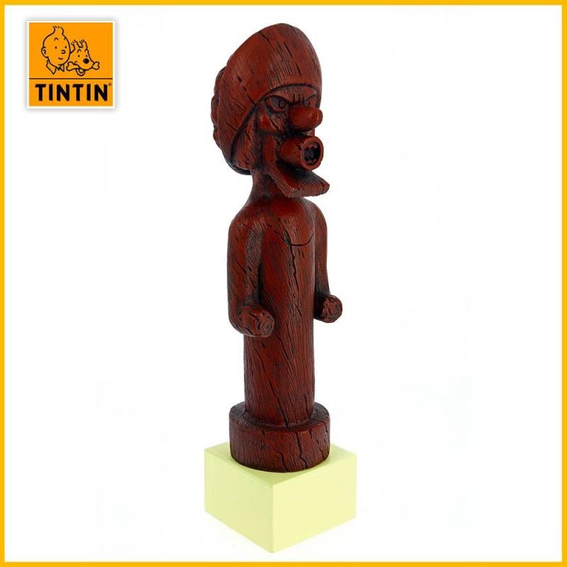 Totem du chevalier de Hadoque Le Musée Imaginaire Tintin