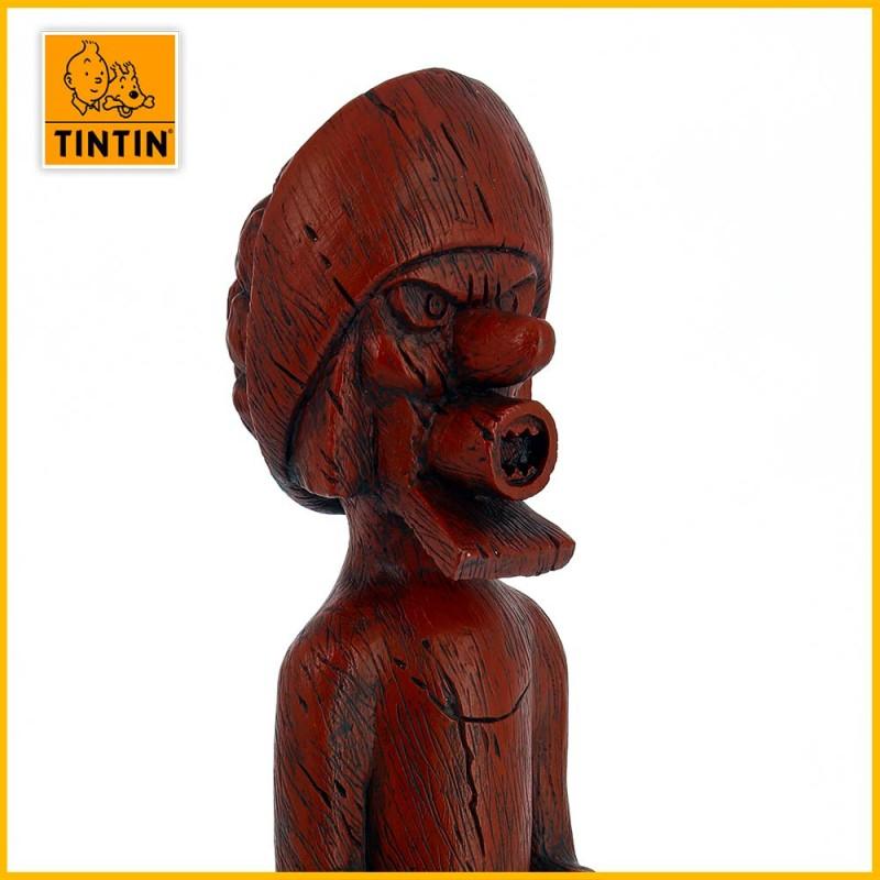 Totem statuette chevalier de Hadoque 46002