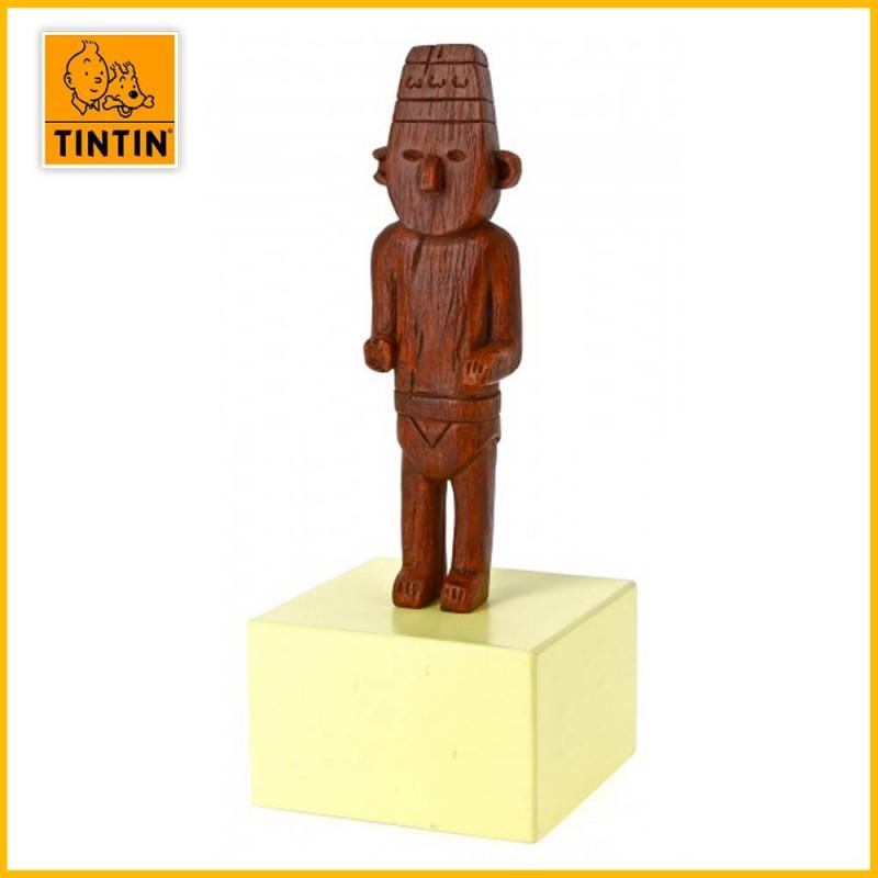 Statuette Fétiche Arumbaya Le Musée Imaginaire Tintin Moulinsart 46001