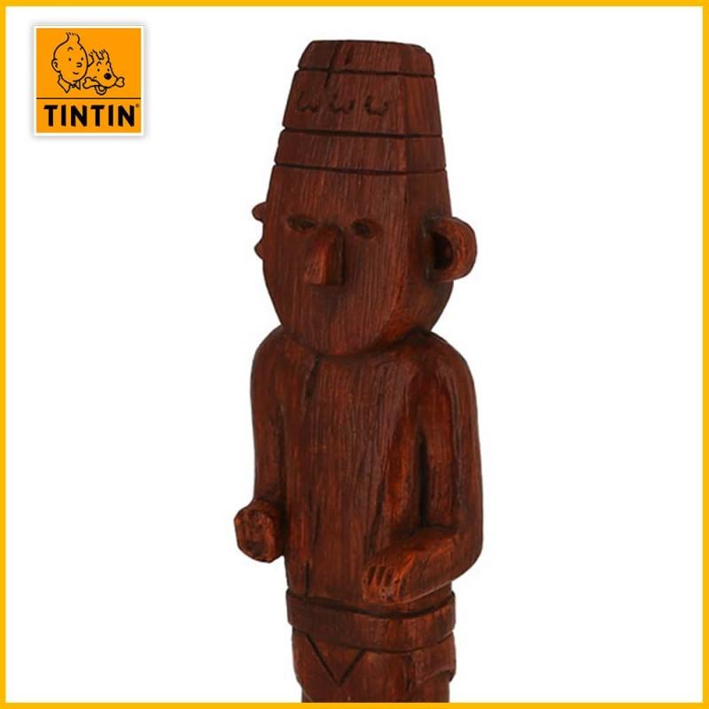 Statuette en résine Fétiche Arumbaya des aventure de Tintin