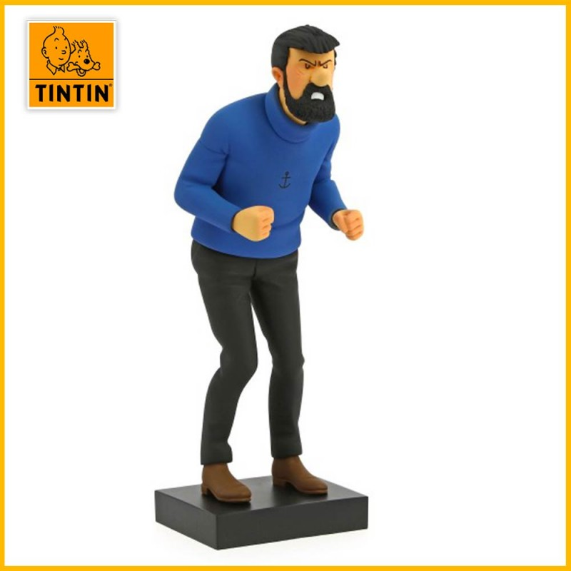 Statuette Collector Capitaine Haddock Moulinsart 44017