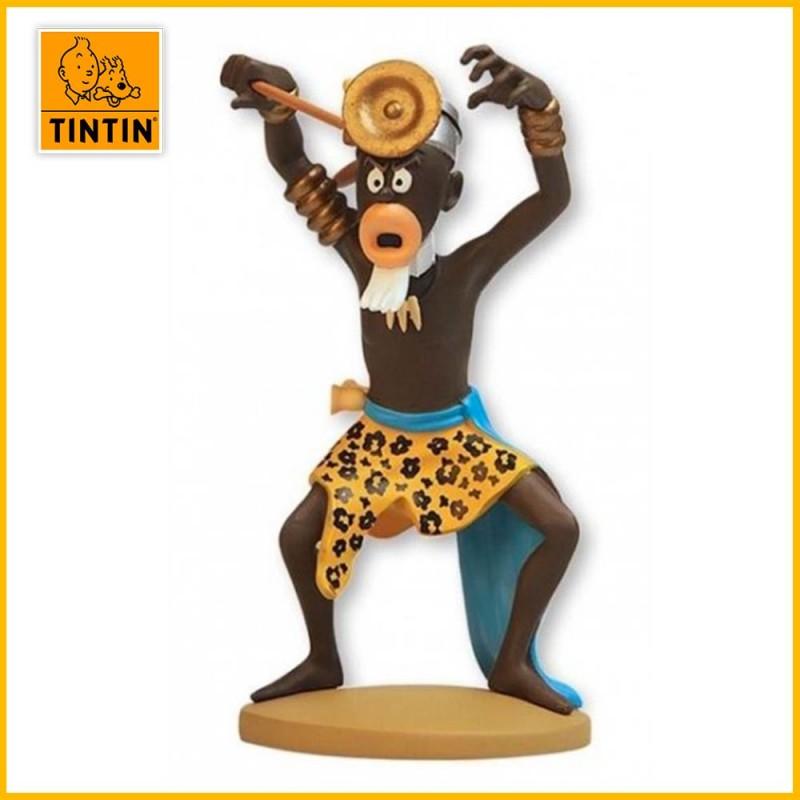 Figurine Sorcier Muganga Tintin  Moulinsart  42225