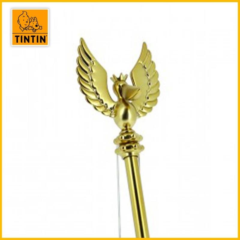 Détail du sceptre d'Ottokar avec le symbole du royaume.