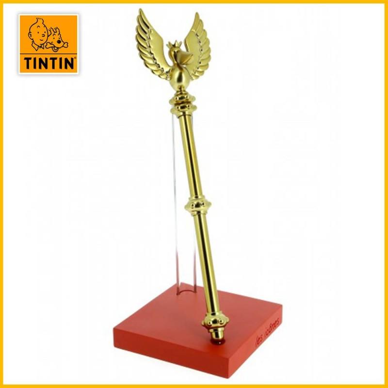 Statuette Collector Sceptre d'Ottokar Les îcones Tintin 23cm Moulinsart 46403