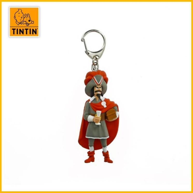 Porte-clés Rackham le Rouge - Figurine Tintin (petit modèle) 42468