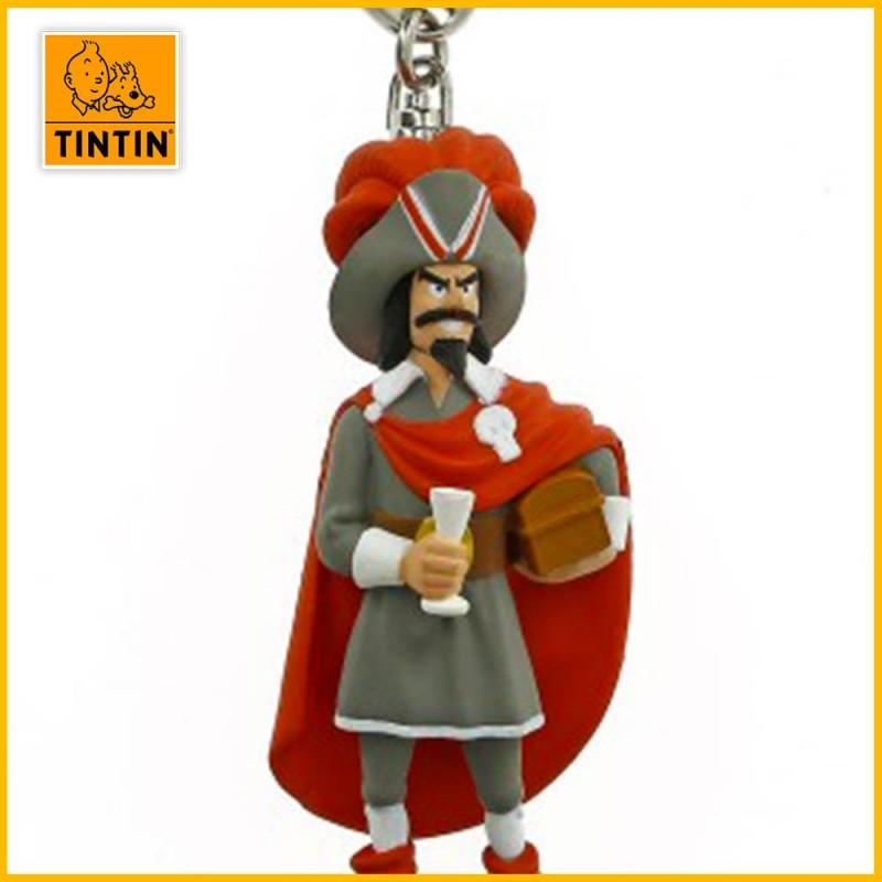 Le pirate Rackham le Rouge en porte-clés
