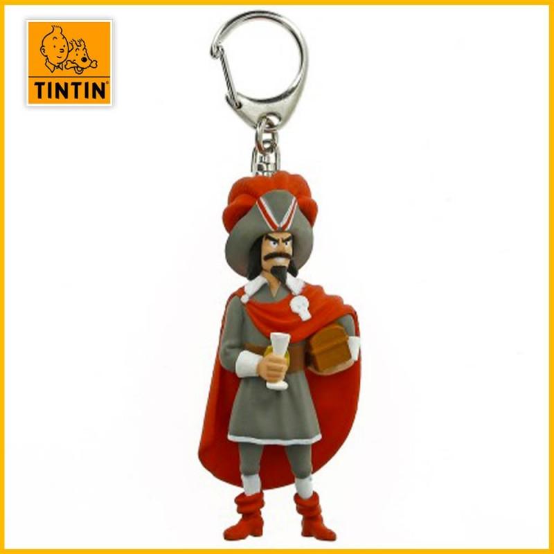 Porte-clés Rackham le Rouge - Figurine Tintin (grand modèle) 42460