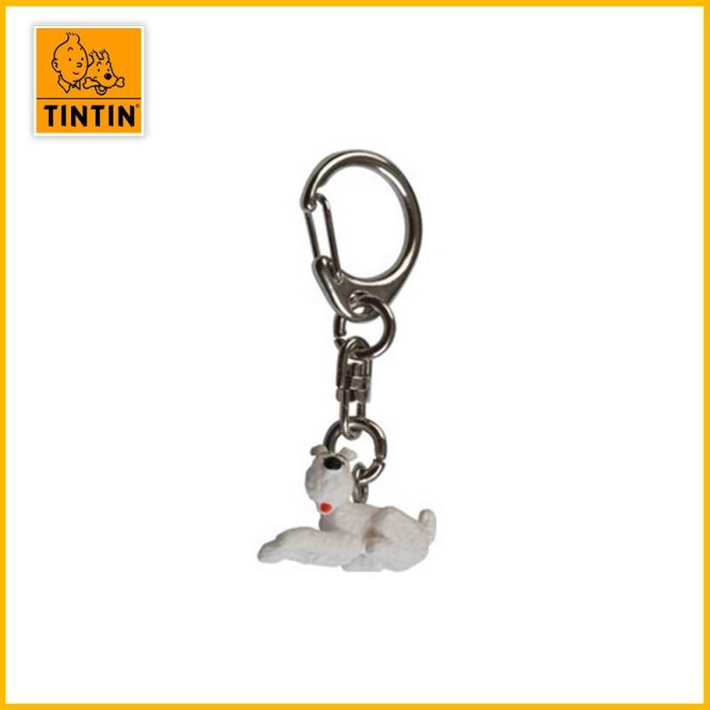 Porte-clés Milou couché (petit modèle)