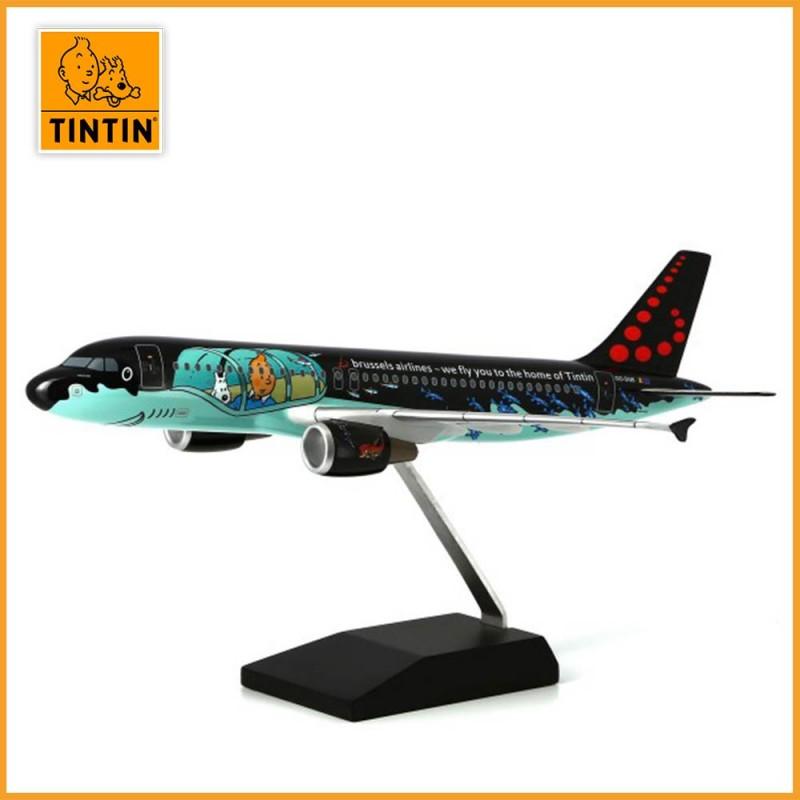 Tintin Airbus A320 Rackham - Brussels Airlines aux couleurs de Tintin