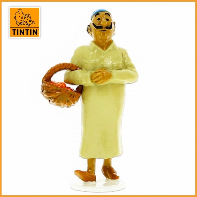 Oliveira da Figueira - Tintin Carte de voeux 1972 - Figurine Alliage Tintin